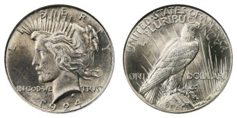 1924peacedollar
